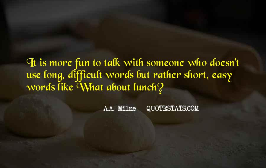 Short Words Quotes #301466
