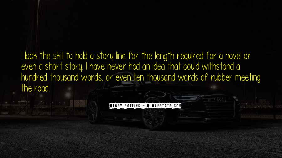 Short Words Quotes #520138