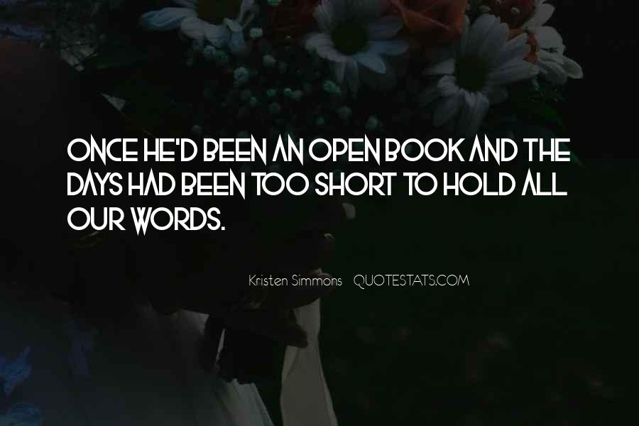 Short Words Quotes #582403