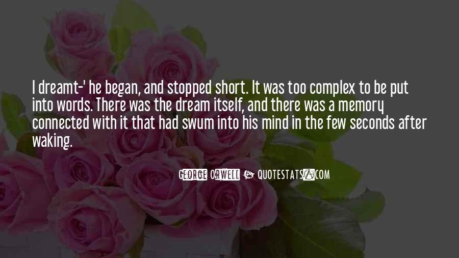 Short Words Quotes #681753