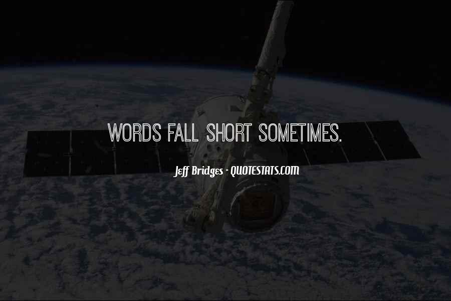 Short Words Quotes #944747
