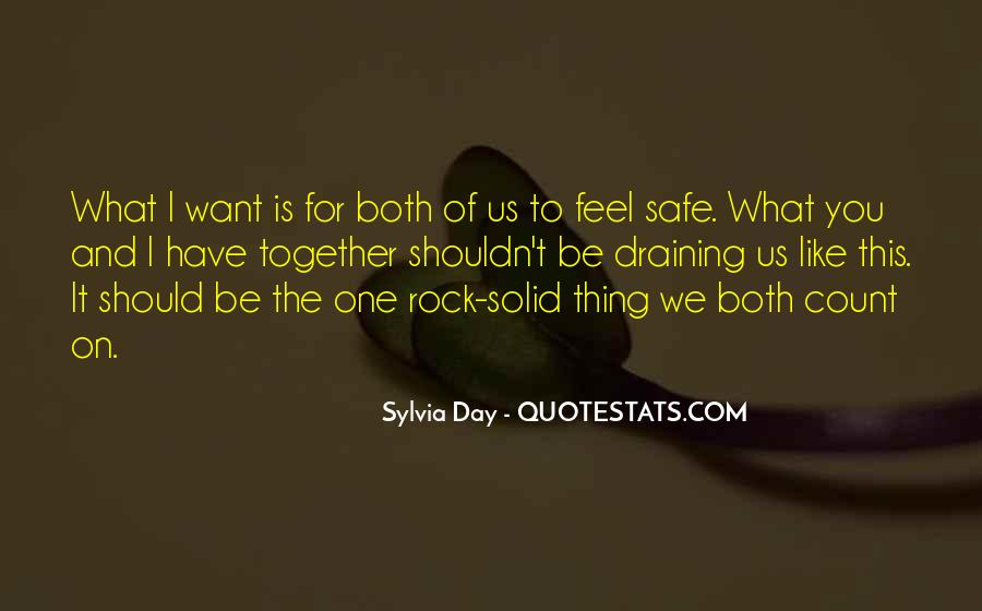 Should We Be Together Quotes #1144497