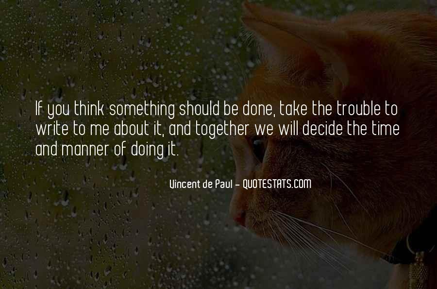 Should We Be Together Quotes #1442594