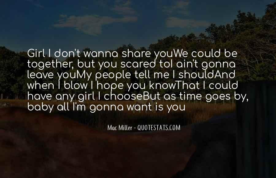 Should We Be Together Quotes #146252