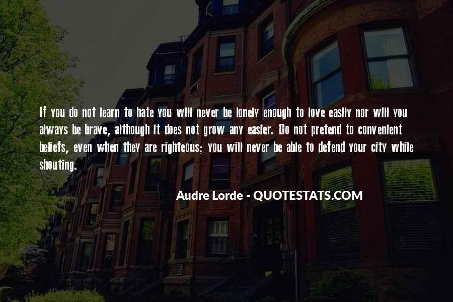 Shouting Love Quotes #1395415