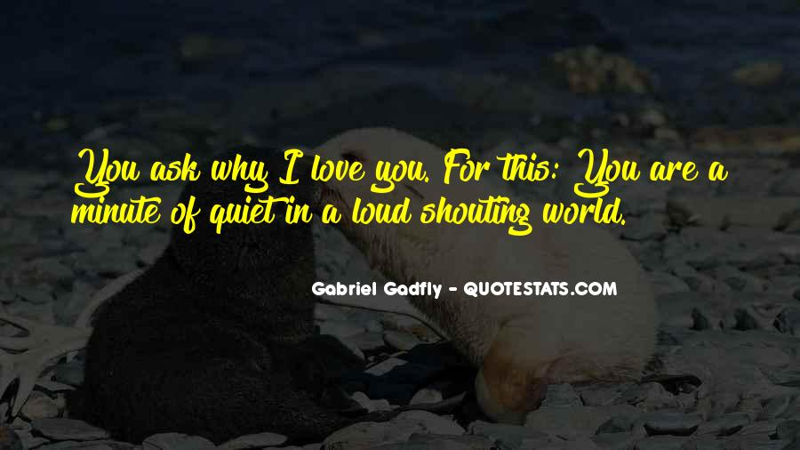 Shouting Love Quotes #251908