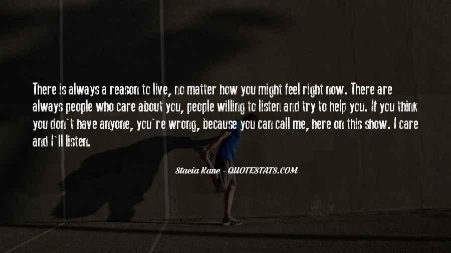 Show Me How You Feel Quotes #1367005