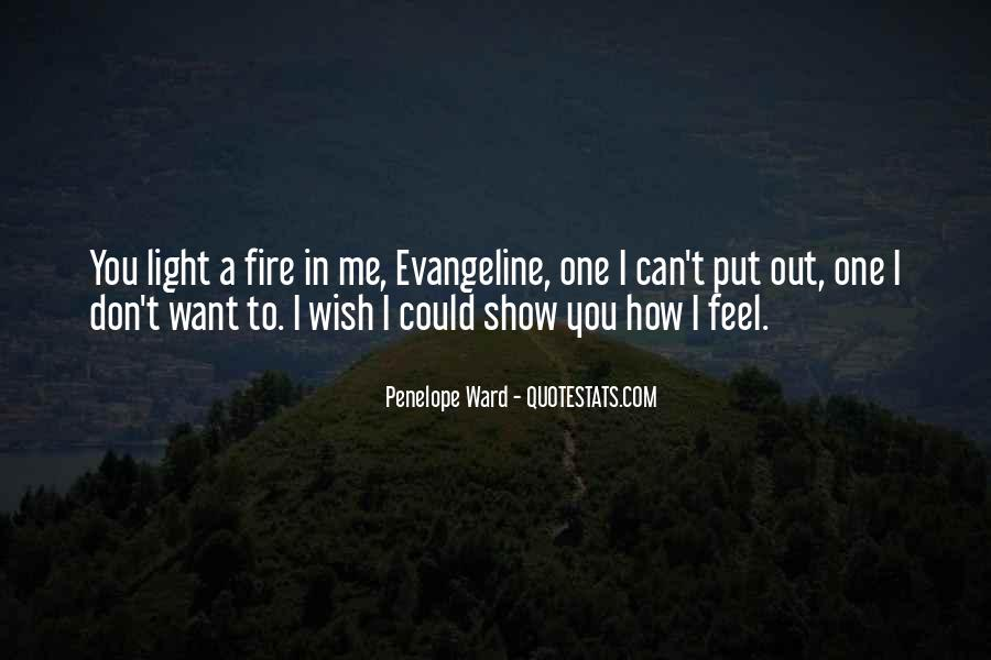 Show Me How You Feel Quotes #862311