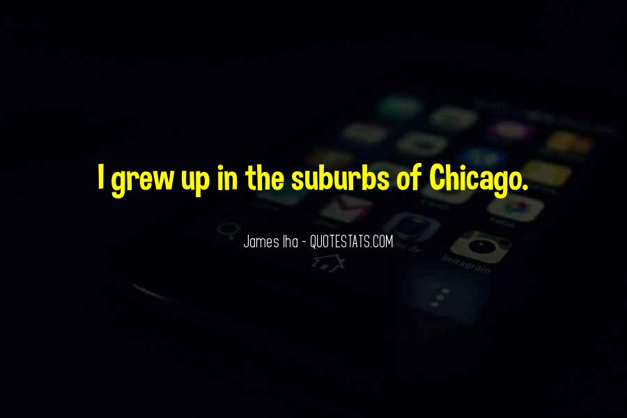 Quotes About Suburbs #128877