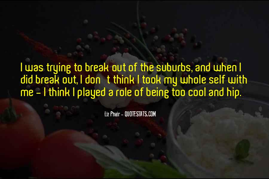 Quotes About Suburbs #176211