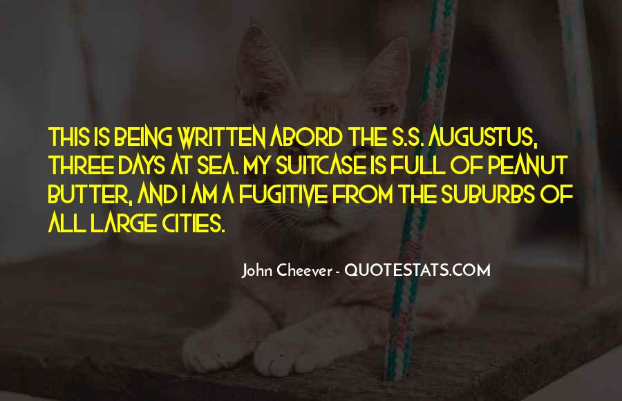 Quotes About Suburbs #357813