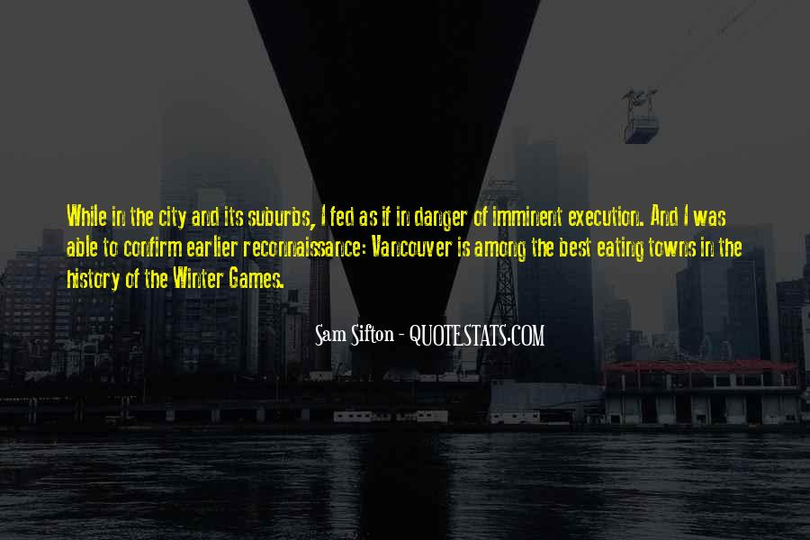 Quotes About Suburbs #368687