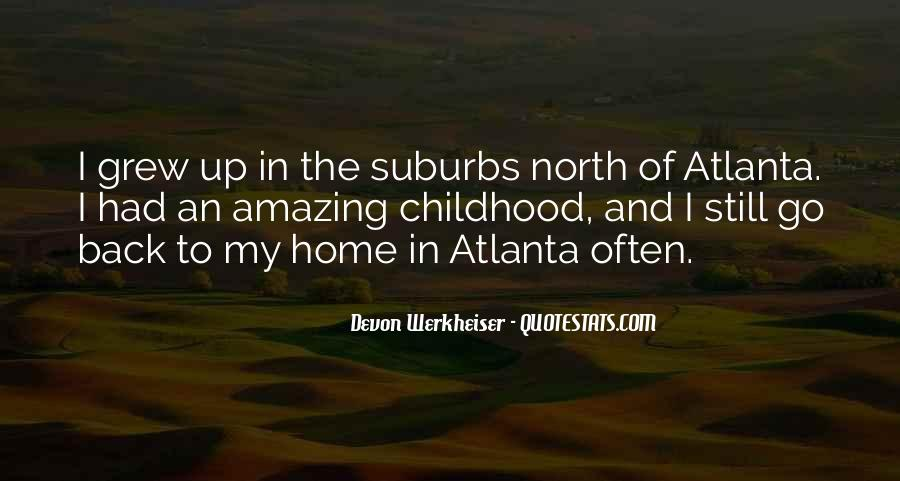 Quotes About Suburbs #381992