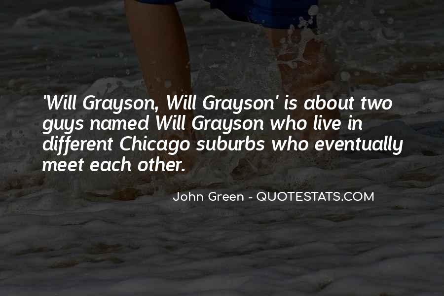Quotes About Suburbs #458480