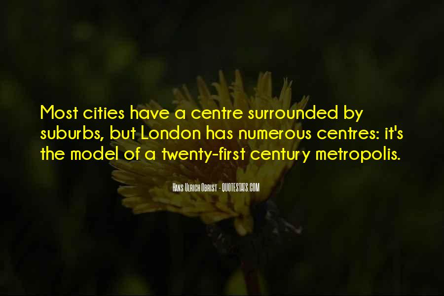 Quotes About Suburbs #519343