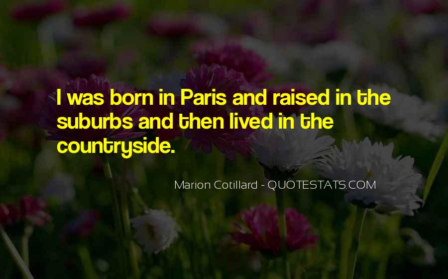 Quotes About Suburbs #72901