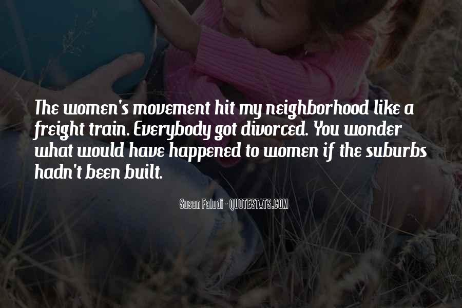 Quotes About Suburbs #729204