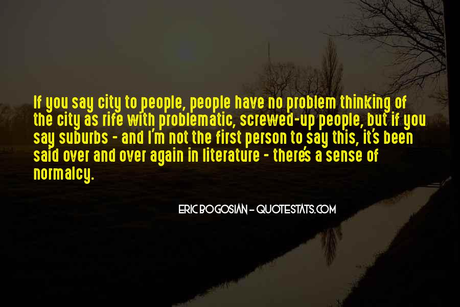 Quotes About Suburbs #782887