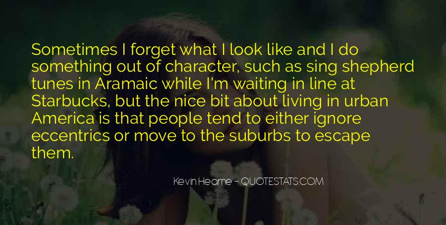 Quotes About Suburbs #785659