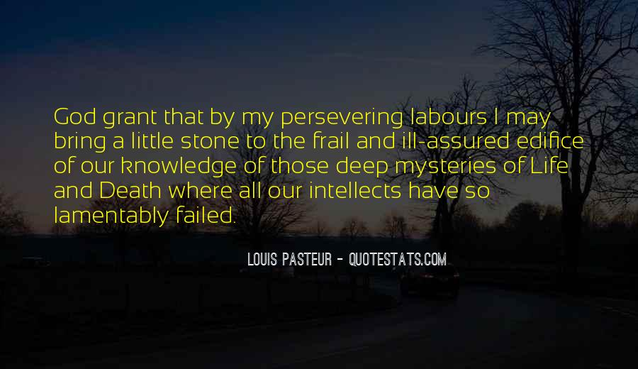 Top 100 Quotes About Louis Pasteur Famous Quotes Sayings About