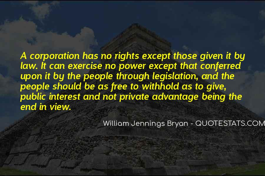 Quotes About William Jennings Bryan #86578