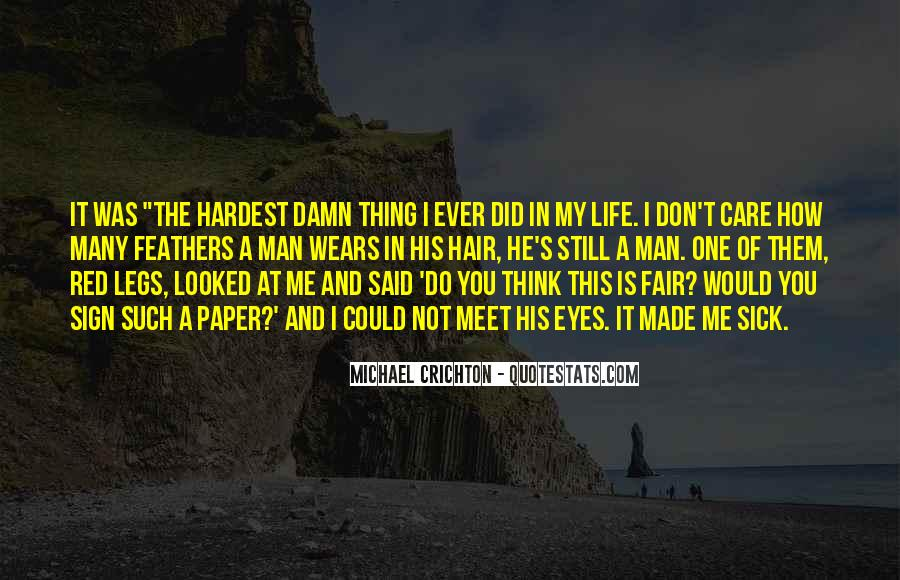 Sick Of This Life Quotes #504405