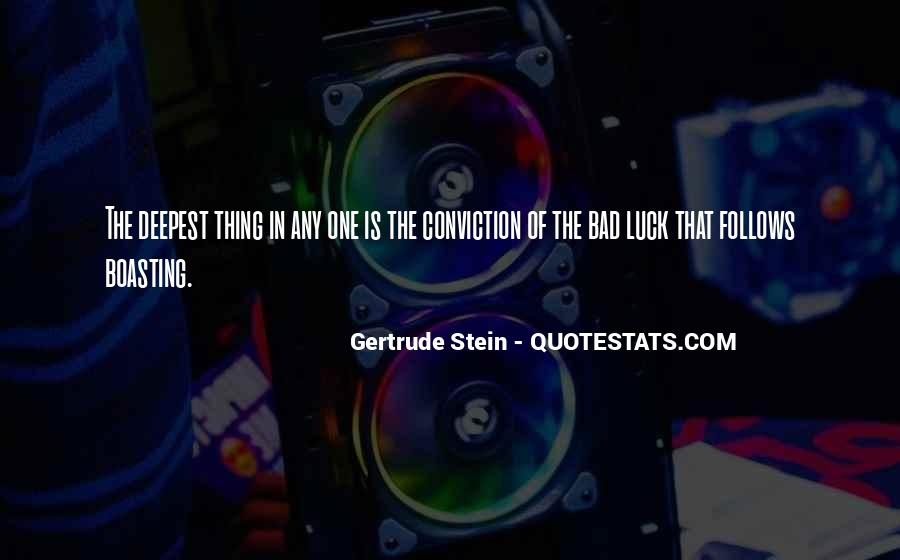 Quotes About Gertrude Stein #192694