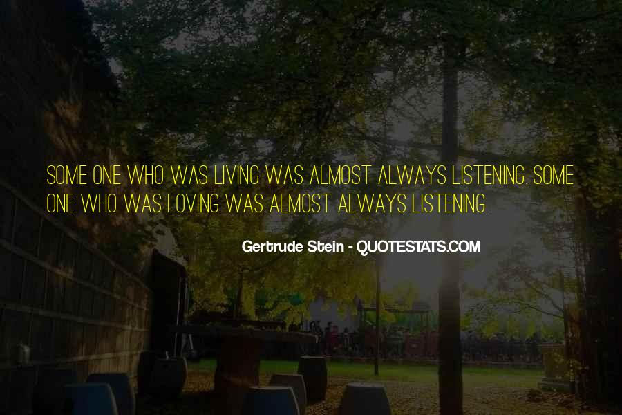 Quotes About Gertrude Stein #199909