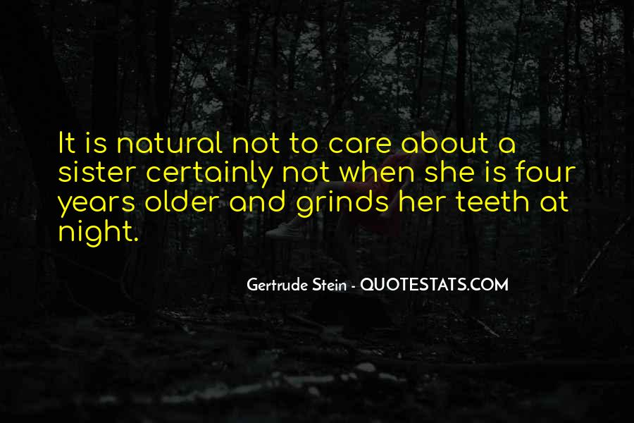 Quotes About Gertrude Stein #346587
