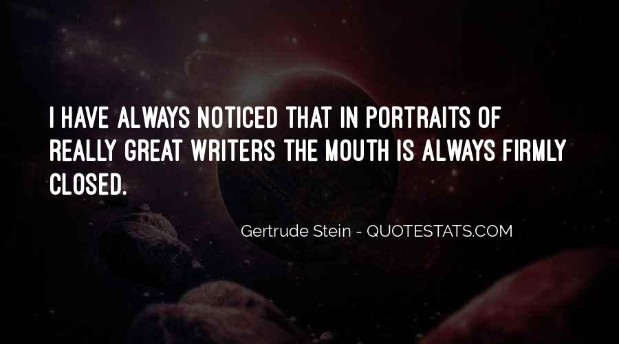 Quotes About Gertrude Stein #98036