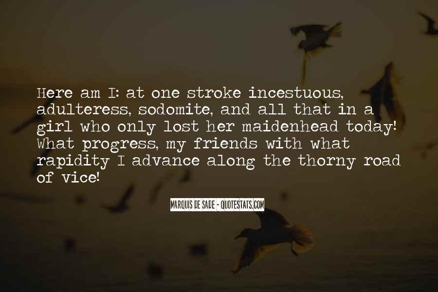 Quotes About Marquis De Sade #1009182