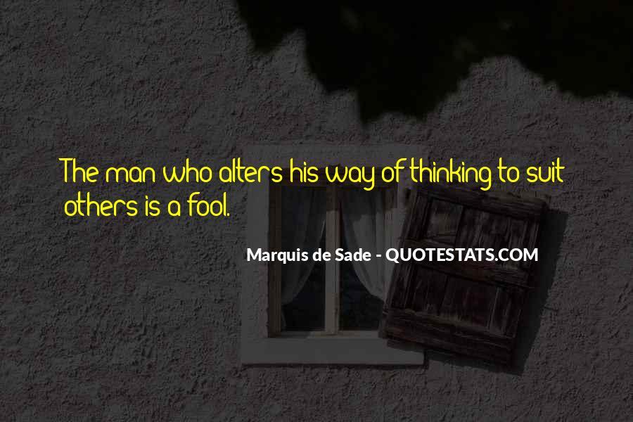 Quotes About Marquis De Sade #1012117
