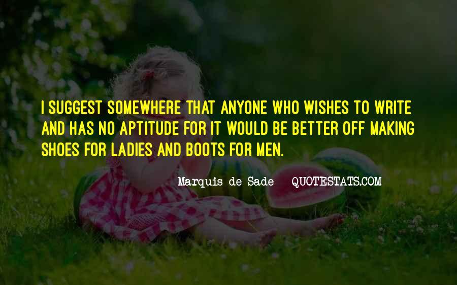 Quotes About Marquis De Sade #12017