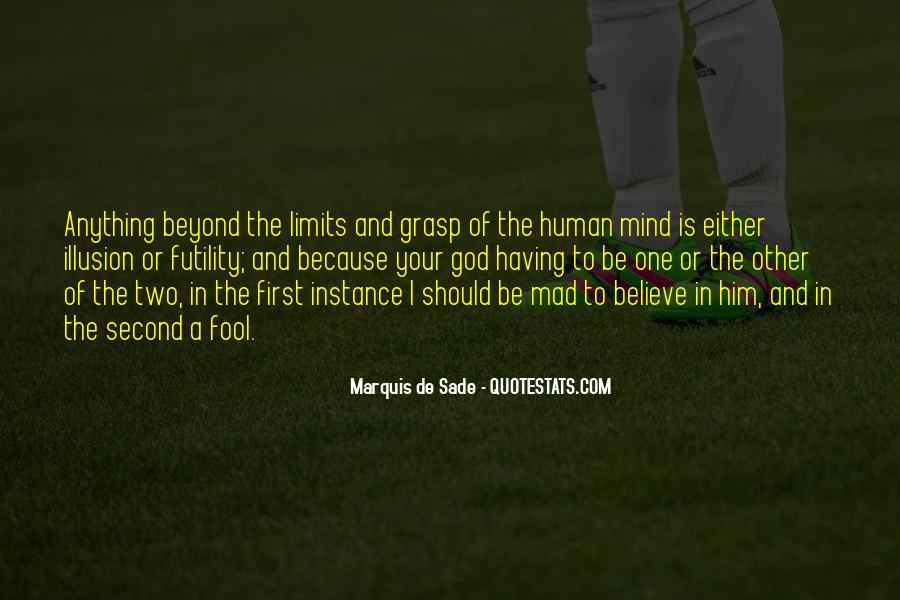 Quotes About Marquis De Sade #130281