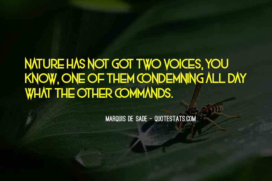 Quotes About Marquis De Sade #154049
