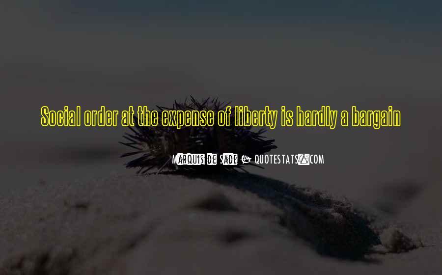 Quotes About Marquis De Sade #17091