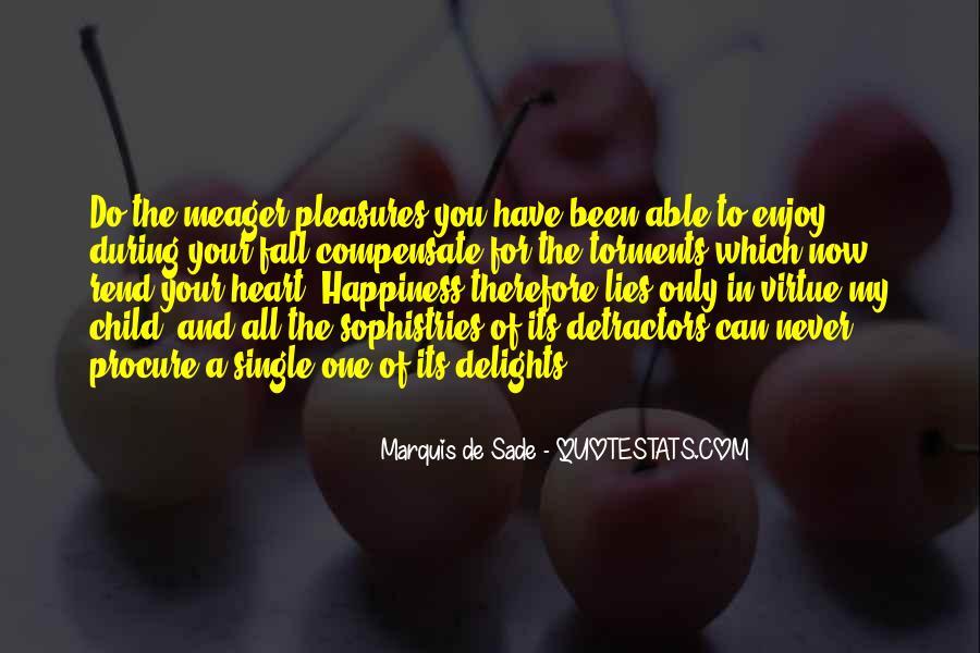 Quotes About Marquis De Sade #257321