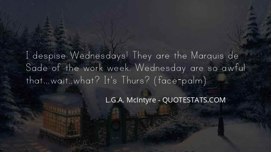 Quotes About Marquis De Sade #289696