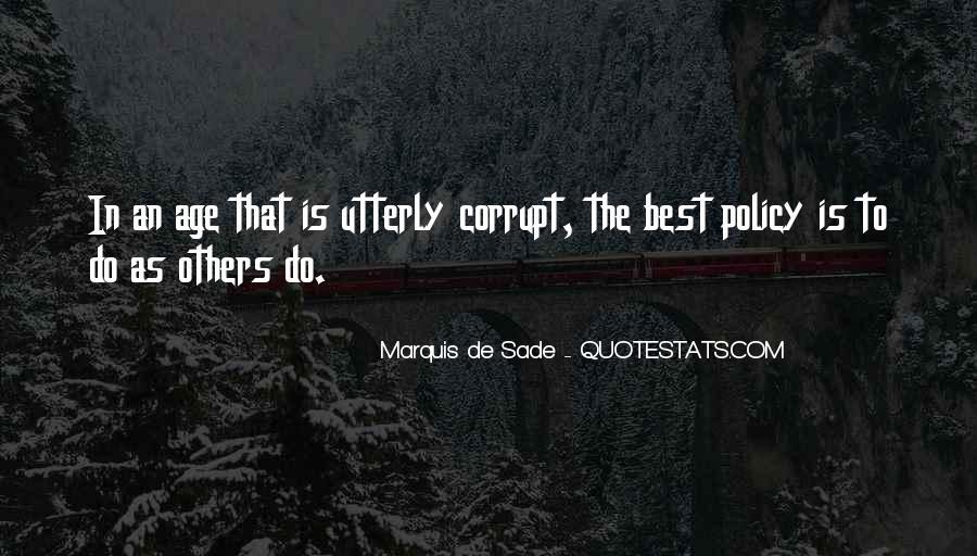 Quotes About Marquis De Sade #31422