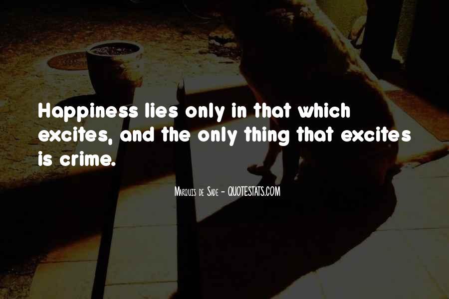 Quotes About Marquis De Sade #32480