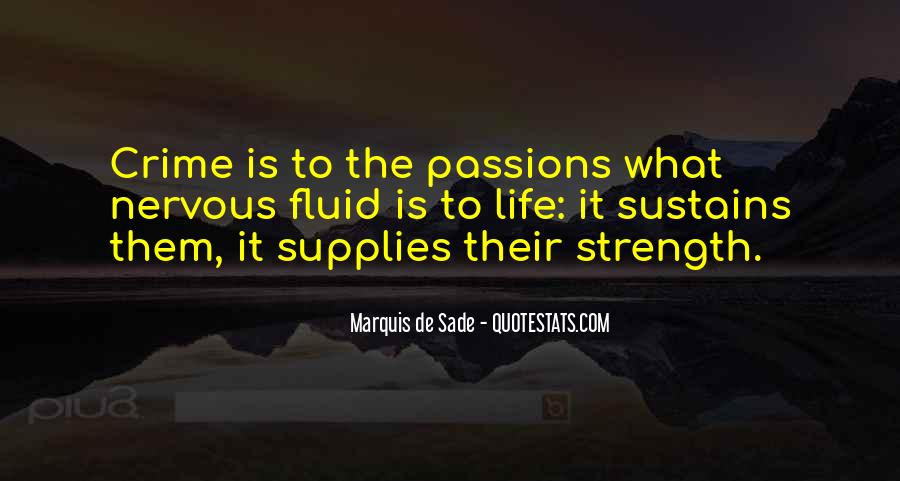 Quotes About Marquis De Sade #371273