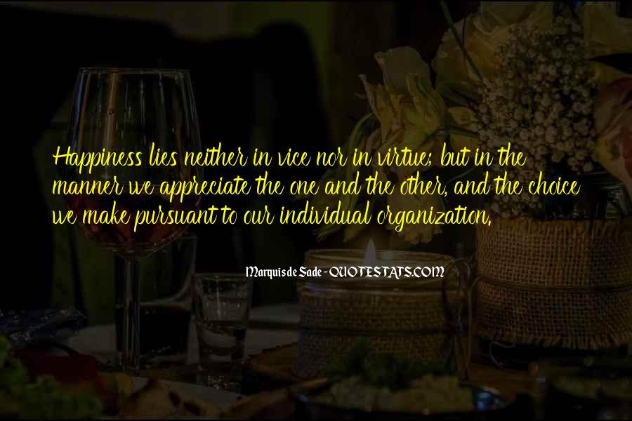 Quotes About Marquis De Sade #445825