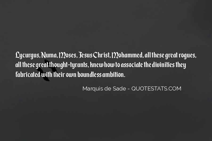 Quotes About Marquis De Sade #458334
