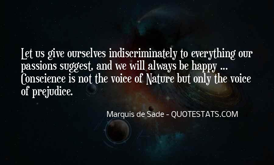 Quotes About Marquis De Sade #495684