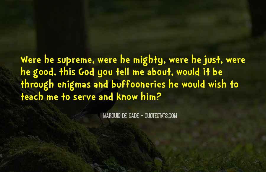Quotes About Marquis De Sade #500027
