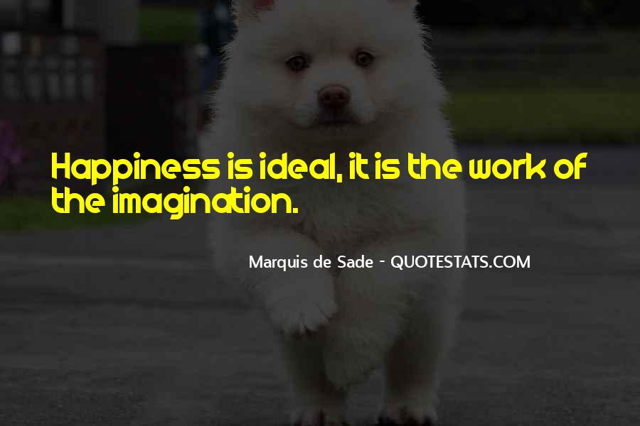 Quotes About Marquis De Sade #649471