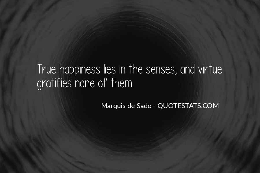 Quotes About Marquis De Sade #689868
