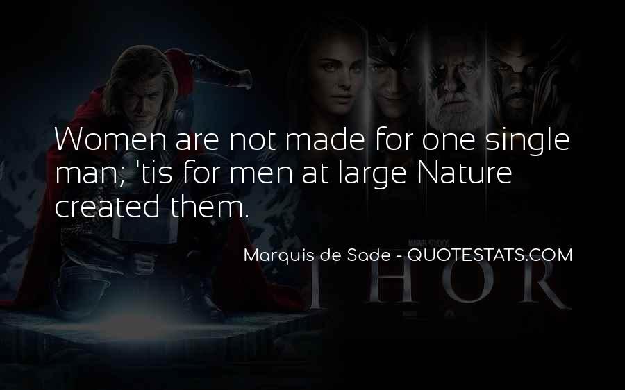 Quotes About Marquis De Sade #693042