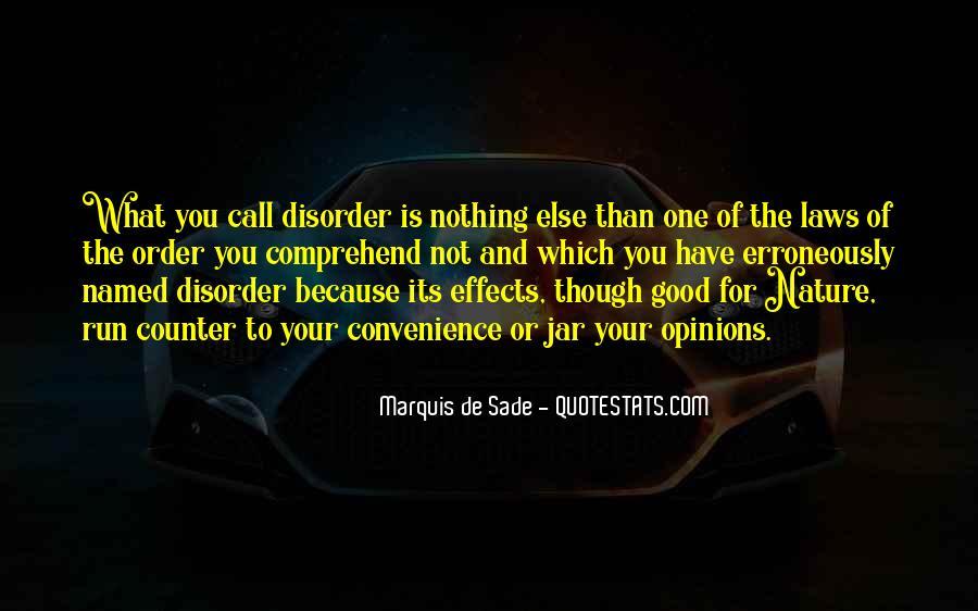 Quotes About Marquis De Sade #709275