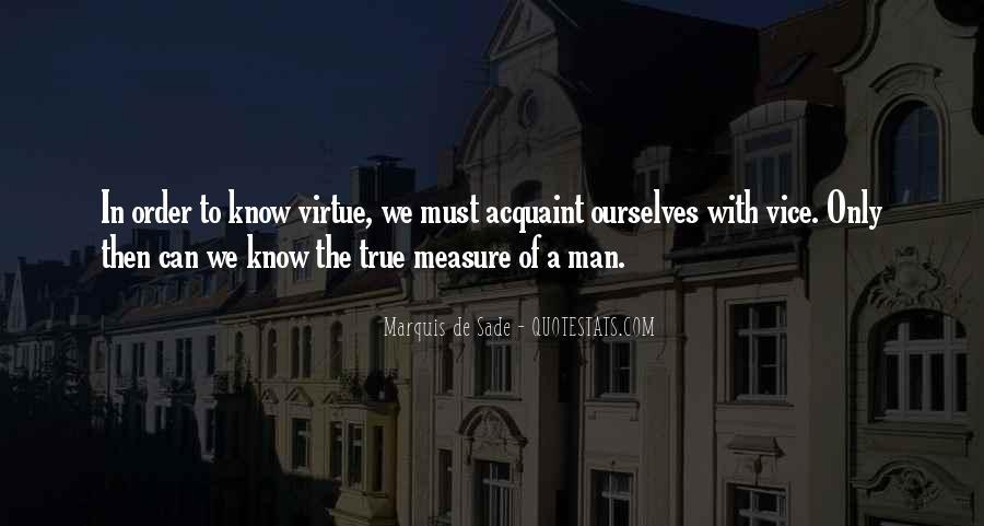 Quotes About Marquis De Sade #746724